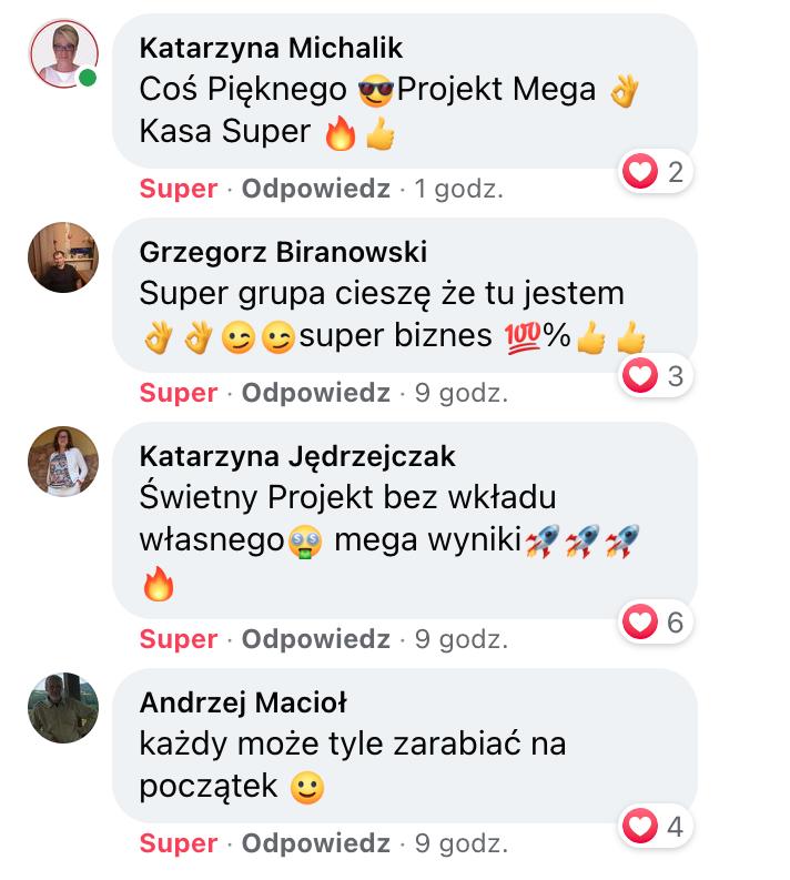 Katarzyna, Grzegorz, Katarzyna, Andrzej - Opinie o Ekspert Afiliacji